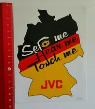 Aufkleber/Sticker: JVC - See me Hear me Touch me (120716189)