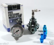New Tomei Style Universal Fit Fuel Pressure Regulator Kits With Meter Type-S