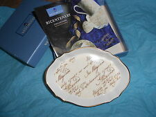 WEDGWOOD CORNUCOPIA,BICENTENARY COLLECTION (1795 - 1995).PRESENTATION BOXED.MINT