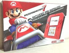 Brand New Nintendo 2DS Mario Kart 7 Bundle (Crimson Red) Handheld System