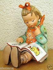HUM #3/1 BOOK WORM TM6 GOEBEL M.I. HUMMEL FIGURINE GERMANY MINT #3/I LARGE $400