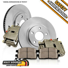 Rear OE Brake Calipers Rotors Ceramic Pads Kit SUBARU BAJA LEGACY OUTBACK WAGON