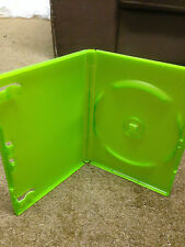 Microsoft Original Xbox Brand New Green Empty Game Cases x 20 also suit DVD etc