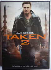 TAKEN 2 - LIAM NEESON - FOX US WS DVD - ACTUAL COVER SHOWN -SHIPS NEXT DAY FAST