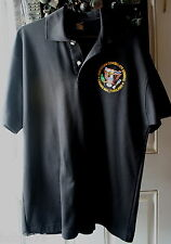 RARE American Consulate General Chiang Mai Thailand Delux Heavyweight Polo Shirt