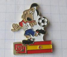 FUJI / FUSSBALL WM 94 USA / STRIKER / SPANIEN .....Sport / Foto Pin (115i)