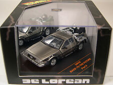 SUN STAR 1:43 SCALE DIECAST METAL BACK TO THE FUTURE DELOREAN