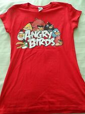 Girl's size XL Extra large Angry Birds Red Top Shirt