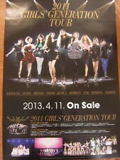 SNSD GIRLS' GENERATION 2011 Tour (Type B) [OFFICIAL] POSTER K-POP