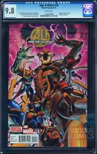 AGE OF ULTRON #10 CGC 9.8 - FIRST APPEARANCE OF ANGELA - AVENGERS - FINAL ISSUE