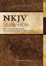 NKJV Study Bible, Hardcover: Second Edition, Thomas Nelson, Good Book