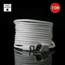 Apple MFi Certified Lightning Cable - 10 Feet - Heavy Duty! FREE SHIPPING!
