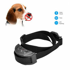 NEW Anti Bark No Barking Remote Electric Shock Vibration Dog Pet Training Collar