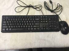 Hp Black Keyboard SK-2085 W/ Hp Mouse N910U Black