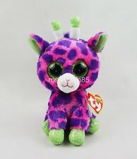 "6"" Giraffe Gilbert Ty Beanie Boos New for 2017 Plush Stuffed Animals Girl Toys"
