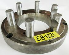 """POLAND 10"""" Chuck Adapter Plate D1-8 Spindle Mount 1-3/8"""" Thickness"""
