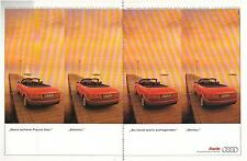 ▬► PUBLICITE ADVERTISING AD Car Voiture AUDI 2 pages  1996