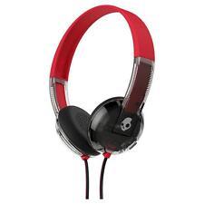 SKULLCANDY UPROAR Wireless On Ear Headphones Red & Gray - New In Sealed Box