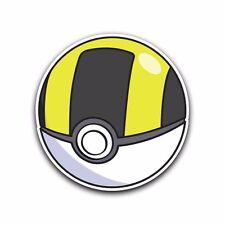 ULTRA Poke Ball Pokemon Go Decal Sticker Vinyl Car Macbook Waterproof JDM iPad