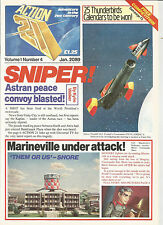 Action 21 Magazine Volume 1 Number 4 - Gerry Anderson - 1989