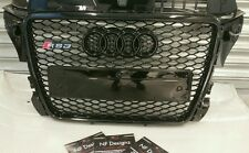 AUDI RS3 FRONT GRILL A3 to RS3 S3 high quality black trim 2009 onwards