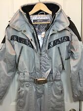 Spyder Picabo XTL Women's One Piece Snowsuit Ski Set Size 6 Silver