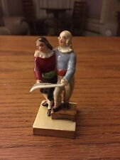 Vintage Rosenthal Figurine, Lady and Gentleman, Choir Singers, Carolers, Zuzana