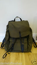Brand New & Genuine Burberry Brookdale Backpack Olive Colour RRP £795