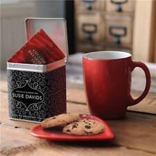 Personalizzata Tea Caddy-Tea Tin-TEA LOVERS REGALO-design tradizionale