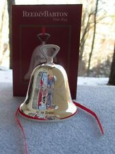 2013 Reed and Barton Silverplate Annual Bell Christmas Ornament New in Box
