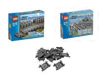 LEGO® City Eisenbahn Set 7499/7895 plus extra 16 x Flex Schienen  7897/7938/7939