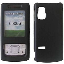 CUSTODIA RIGIDA COVER CRYSTAL CASE BLACK MAT per NOKIA 6500S 6500 SLIDE