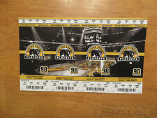 BOSTON BRUINS UNUSED PLAYOFF TICKETS 2014 ROUND 2 4 PACK VS MONTREAL CANADIENS