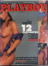PLAYBOY D 1/1988 Januar - Interview Arnold Schwarzenegger + Playmate-Parade 1987