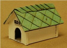 Dog House Building Kit 2 Pack O Scale Model Train Layout Detail Laser Cut Wood
