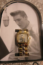 ELVIS PRESLEY SIGNATURE PRODUCT - WRIST WATCH - IN ORIGINAL TIN *NEW*!