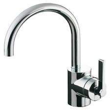 Ideal Standard Silver E0068AA single lever monobloc basin mixer tap. No pop-up