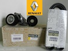 ORIGINAL GENUINE RENAULT FAN DRIVE BELT TENSIONER PULLEY IDLER KIT DACIA RENAULT