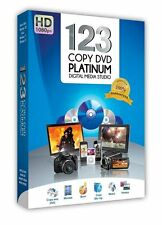 123 COPY DVD PLATINUM SHARE BACKUP MOVIES FILMS DATA BURN BLU RAY RETAIL BOXED