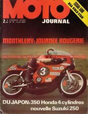 MOTO JOURNAL   72 BSA 500 Gold Star B50 SS HONDA CB 350 Four AMC 125 YAMAHA TD3