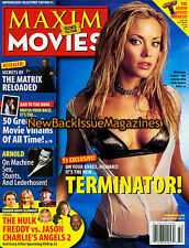 Maxim Goes To The Movies 7/03,Kristanna Loken,July 2003,NEW