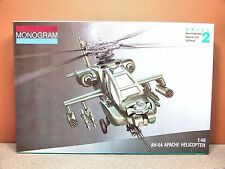1/48 MONOGRAM AH-64 APACHE MODEL KIT # 5443