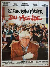 Affiche LE PLUS BEAU METIER DU MONDE Professeur GERARD DEPARDIEU 120x160 *D