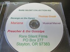 Rare Silent Film Collection #20 Revenge on the Range, Musical Marvel, Marianna