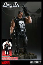 Sideshow Punisher Comiquette Exclusive Statue NIB Never Removed Hulk Not Bowen