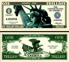 La STATUE de la LIBERTE BILLET MILLION DOLLAR US ! Collection Etat Unis Milliard