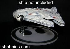 acrylic display stand for Disney Star Wars diecast Millennium Falcon stand only