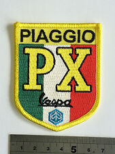 Vespa PX Ital Patch - Embroidered - Iron or Sew On