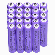 24x AAA 1800mAh 1.2 V Ni-MH rechargeable battery Purple for MP3 RC Toys Camera T