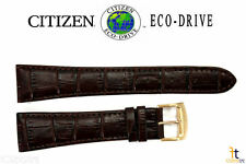 Citizen CB0013-04A Eco-Drive Original 23mm Brown Leather Watch Band